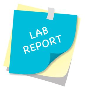 How to write an amended laboratory report